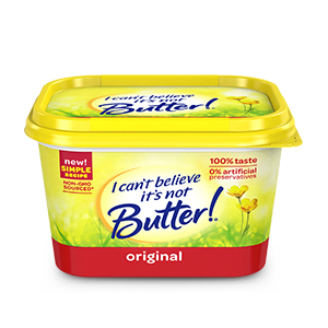 Non-dairy butter alternatives