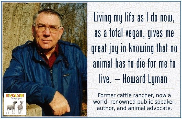 Howard Lyman, Story of a Cattle Rancher turned Vegan