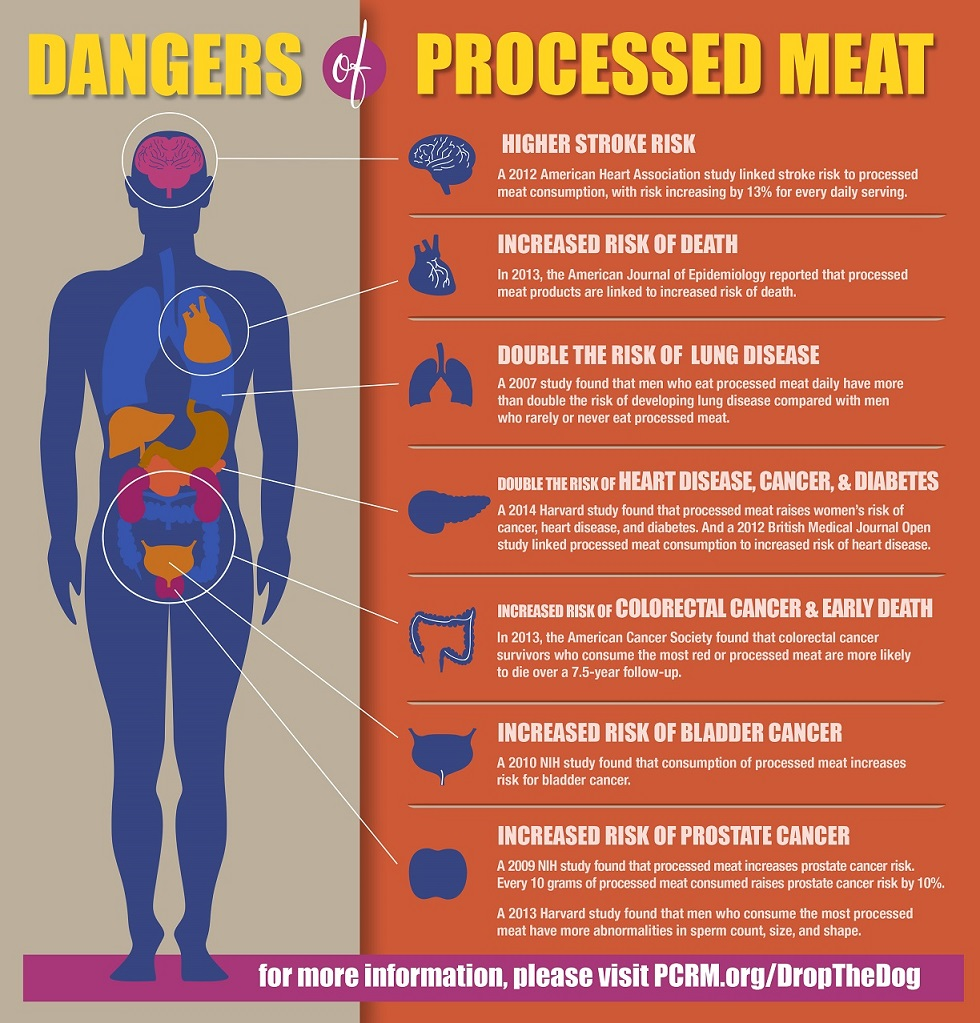 Hidden facts about the dangers of meat 50