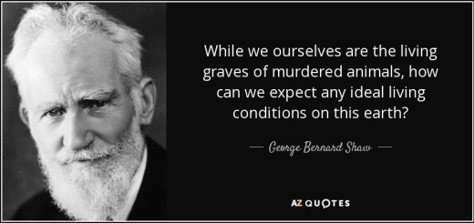 George Bernard Shaw Living Graves Poem