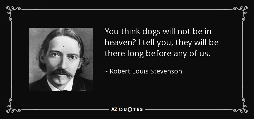 Robert Louis Stevenson - Questions the Morality of Eating Animals