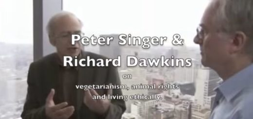 Peter Singer and Richard Dawkins Discuss Vegetarianism, Animal Rights and Living Ethically